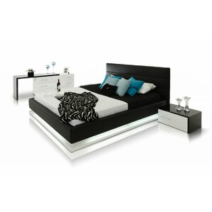 Leraine Upholstered Platform Bed by Wade Logan