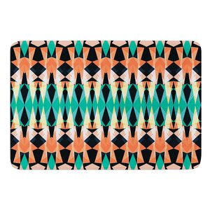 Triangle Visions by Akwaflorell Bath Mat