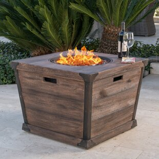 Coomes Stone Propane Fire Pit Table
