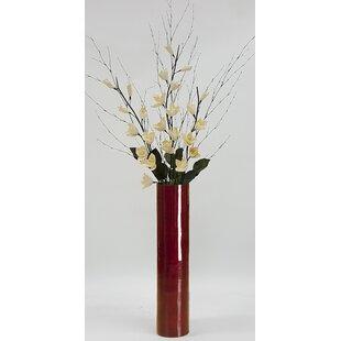 Quickview  sc 1 st  Wayfair & Large Floor Vase With Flowers | Wayfair