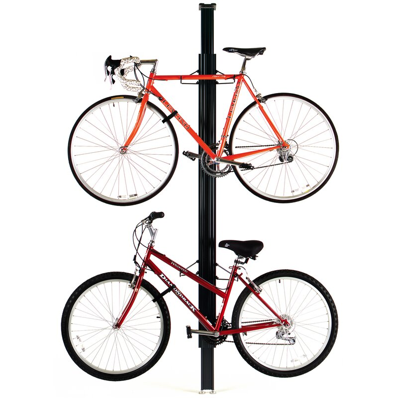 Ceiling Bike Rack >> Gear Up Inc Signature Series 4 Bike Storage Ceiling Mounted Bike