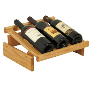 Dakota 3 Bottle Tabletop Wine Rack