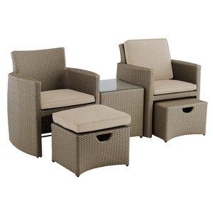 5-tlg. 2-Sitzer Loungemöbel-Set von Kettler