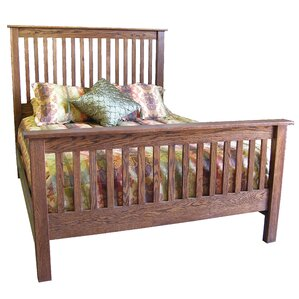 Queen Panel Bed by Forest Designs