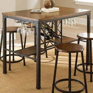 Woodside Pub Table & Pub Tables u0026 Bistro Sets Youu0027ll Love | Wayfair islam-shia.org