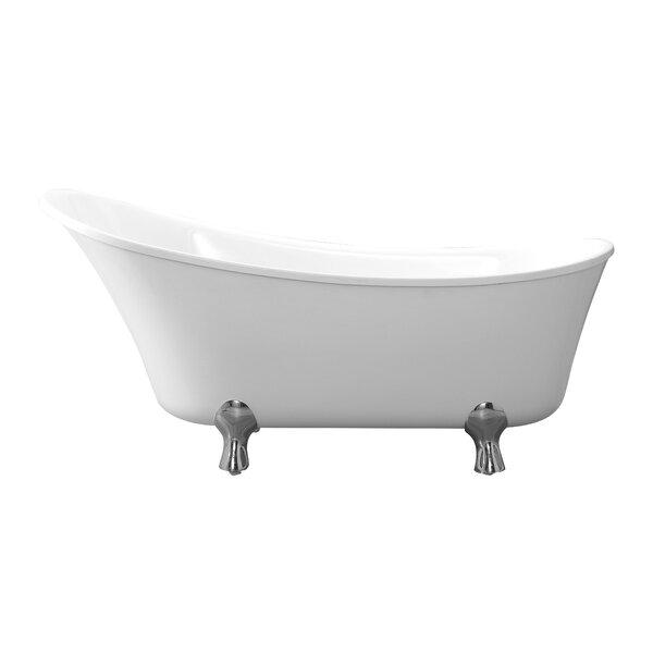 claw foot slipper tub   wayfair