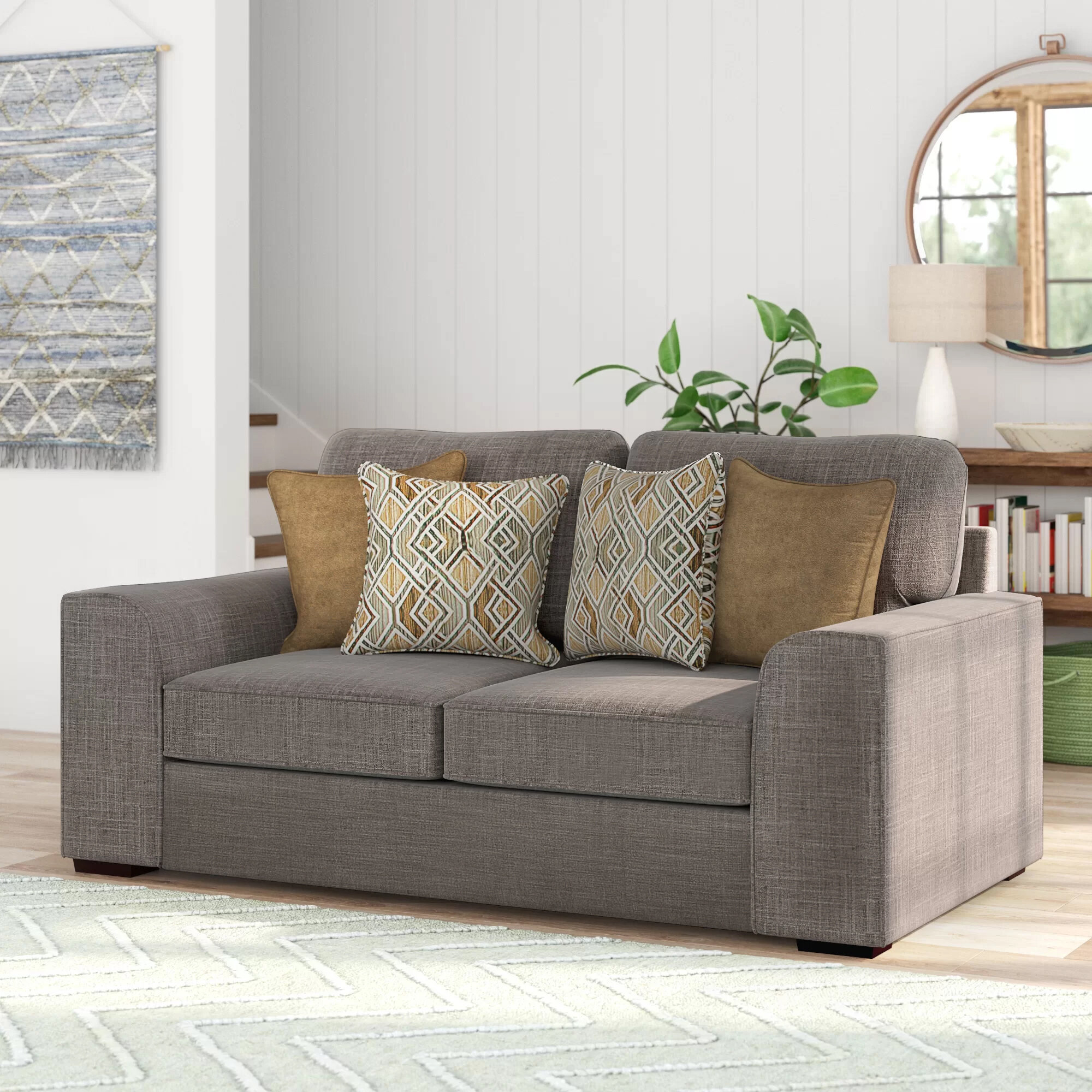 Zipcode Design Ackers Brook Loveseat By Simmons Upholstery & Reviews