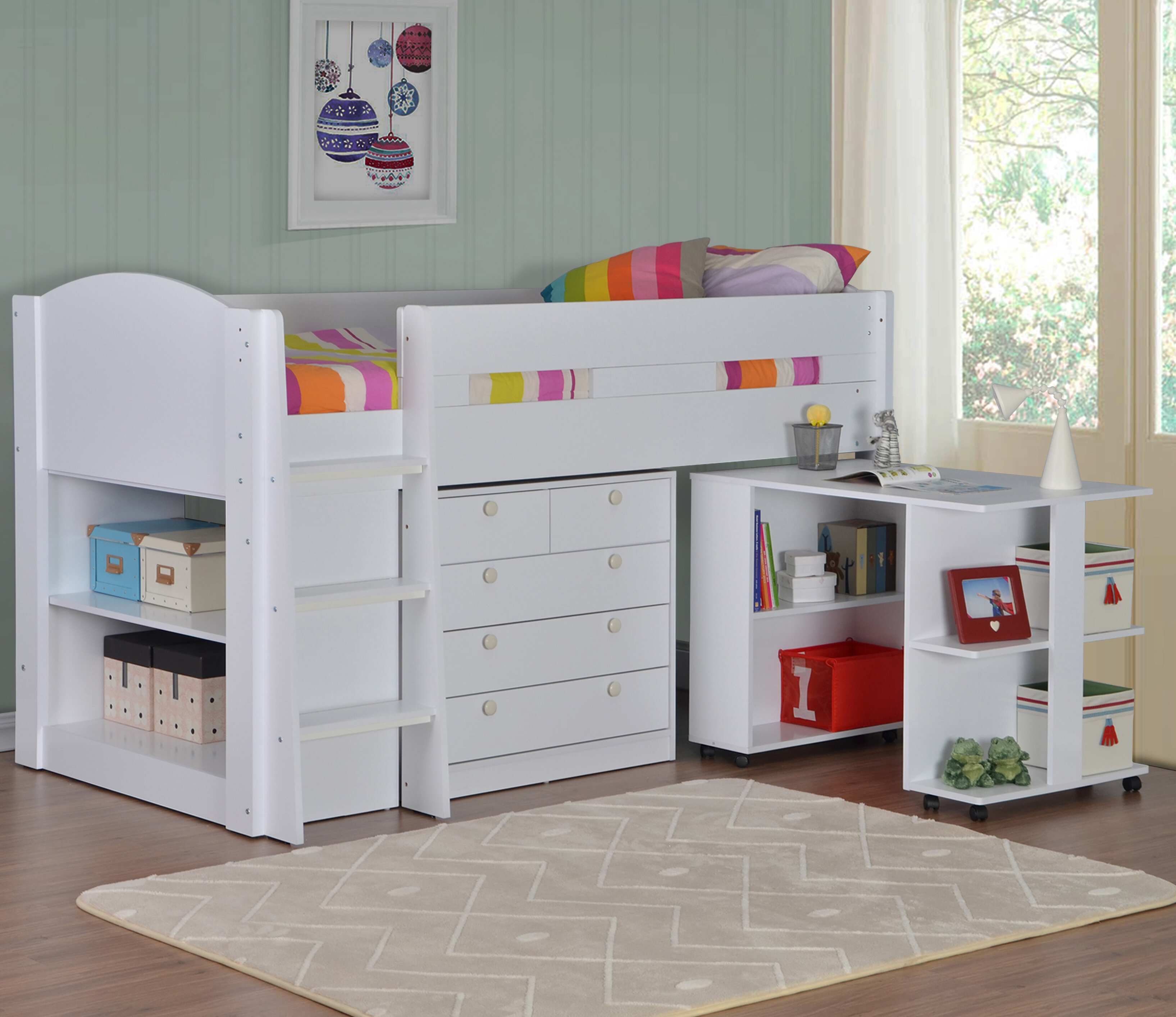 cabins bed bedsitter furniture city the larger view cabin l pine value com bunk post beds warehousemold kids