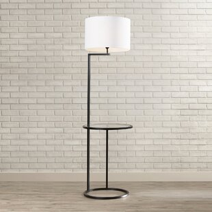 Floor lamp with attached table wayfair mcmillin 69 floor lamp aloadofball Choice Image