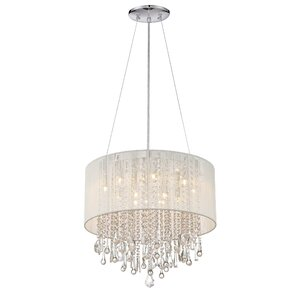 Chamberlin 12-Light Drum Chandelier