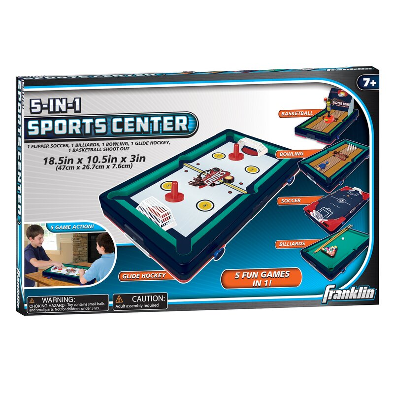 Ordinaire 5 In 1 Sports Center Table Top