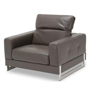 mia bella novelo leather club chair