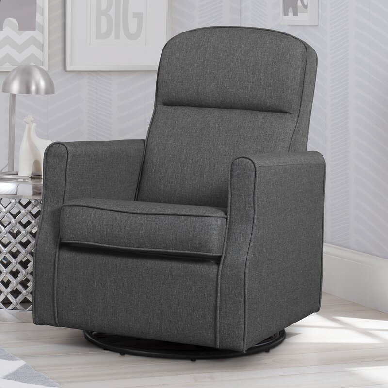 Blair Slim Nursery Swivel Glider