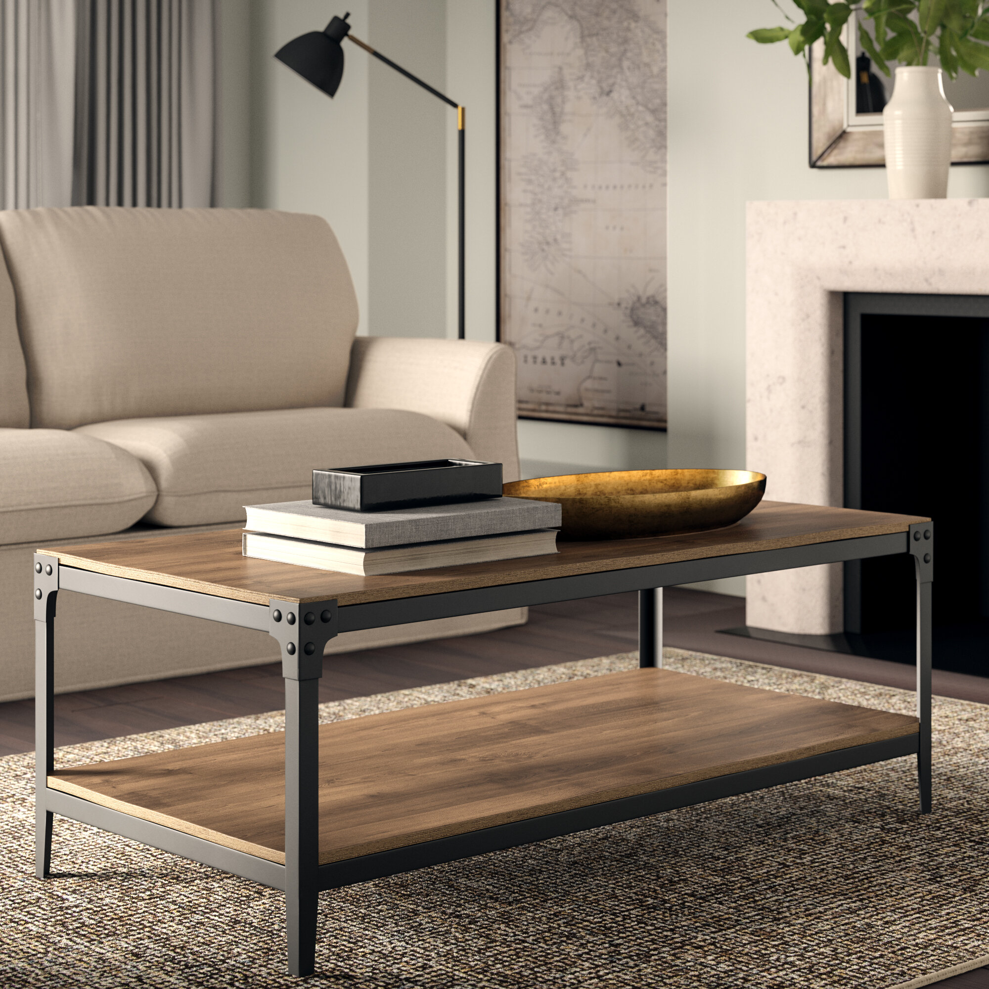 01eb68b22268 Greyleigh Cainsville Coffee Table   Reviews