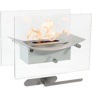 Zen Ventless Bio-Ethanol Tabletop Fireplace