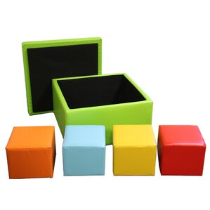 Square Storage Ottoman with Seating by ORE F..