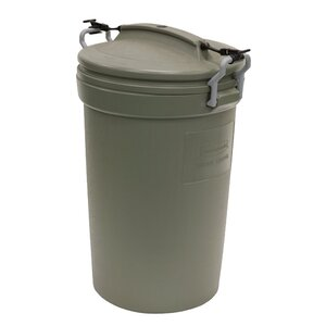 Rubbermaid Animal Stopper 32 Gallon Trash Can