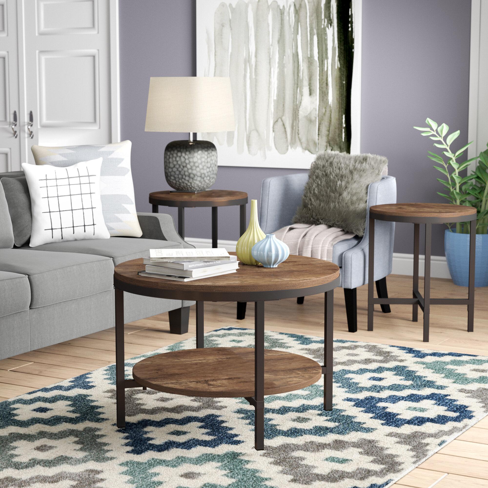 Superieur Mercury Row Absher 3 Pieces Coffee Table Set U0026 Reviews | Wayfair