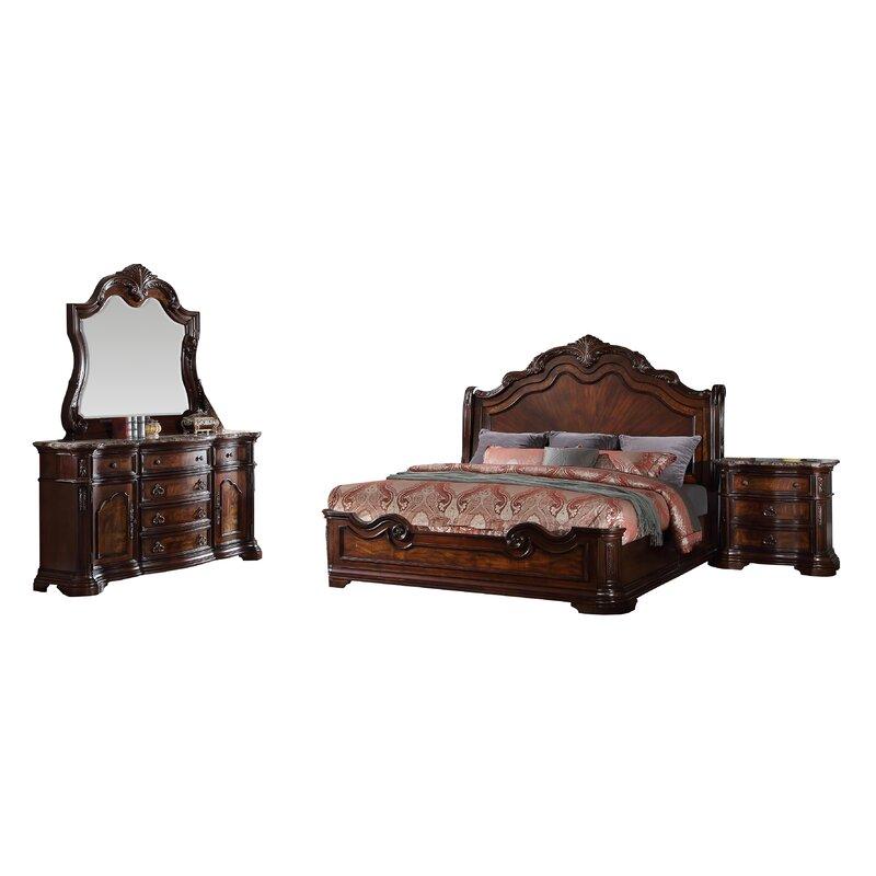Astoria Grand Fletcher Standard 5 Piece Bedroom Set & Reviews   Wayfair