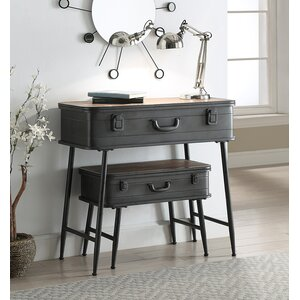 Buck Metal Trunk 2 Piece Nesting Tables