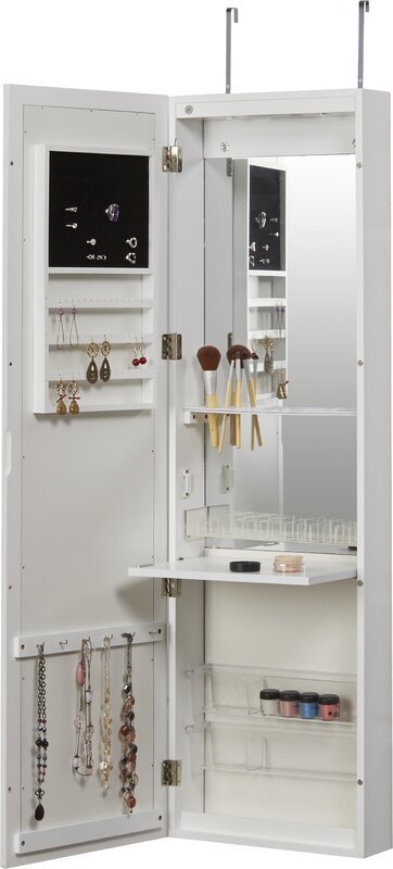 Zipcode Design Carolina Jewelry and Makeup Cabinet Over the Door