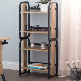 Foldable Stackable Bookcase