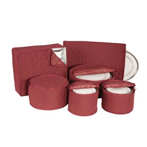 Tabletop Storage Dinnerware Storage 6 Piece Dining Plates Set