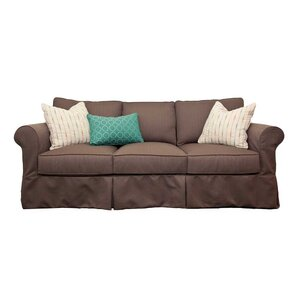 Lexi Slip Sofa by Engender