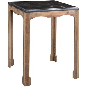 De?bora Side Table in Gray Wash by One Allium Way
