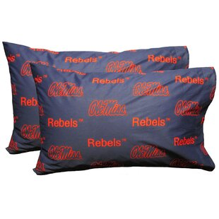 NCAA Ole Miss Pillowcase (Set Of 2)