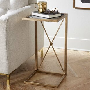 Black And Gold Accent Table Wayfair - Wayfair gold end table