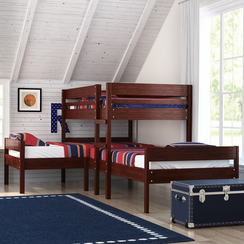Duncan Triple Twin Bed