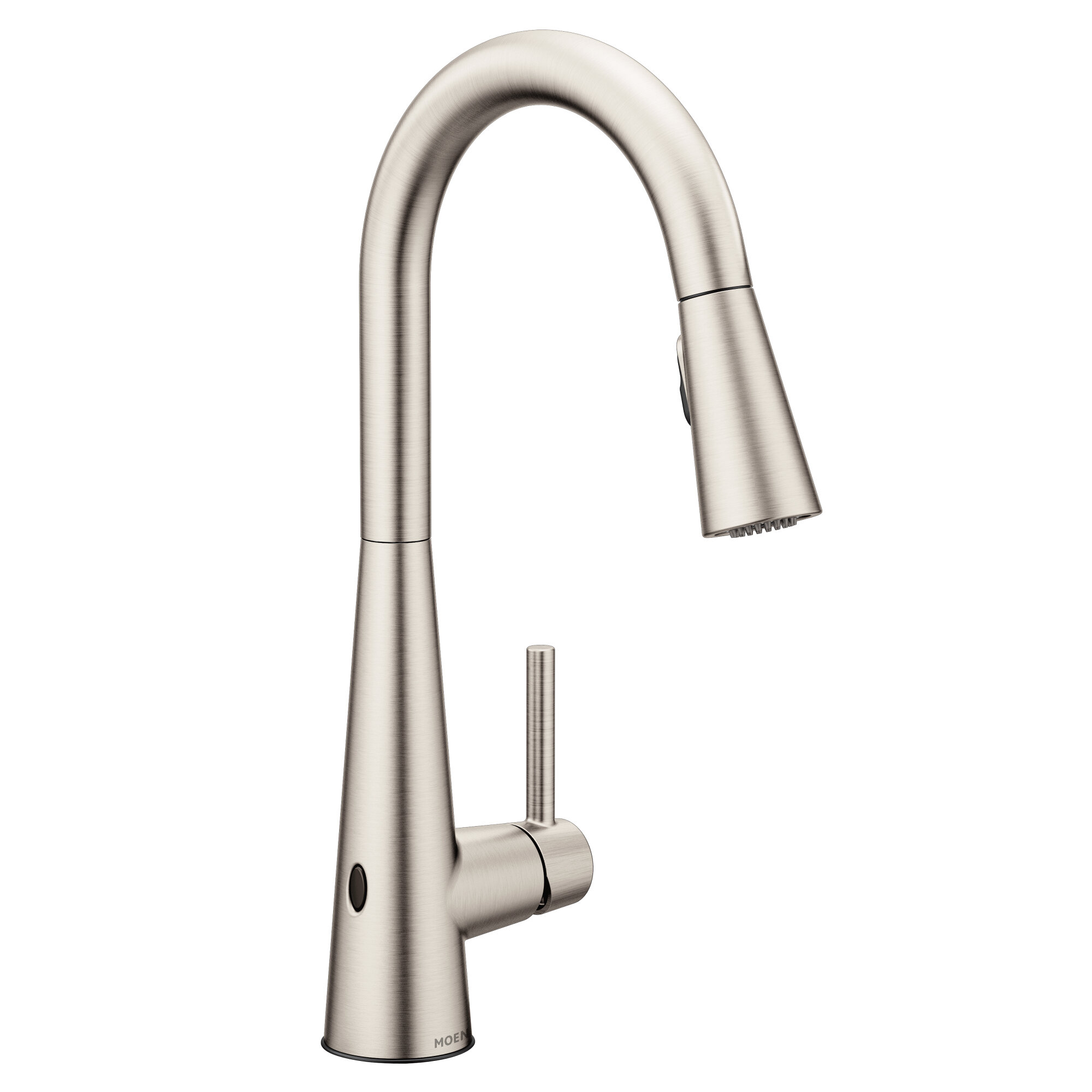 Moen Sleek Pull Down Touchless Single Handle Kitchen Faucet With