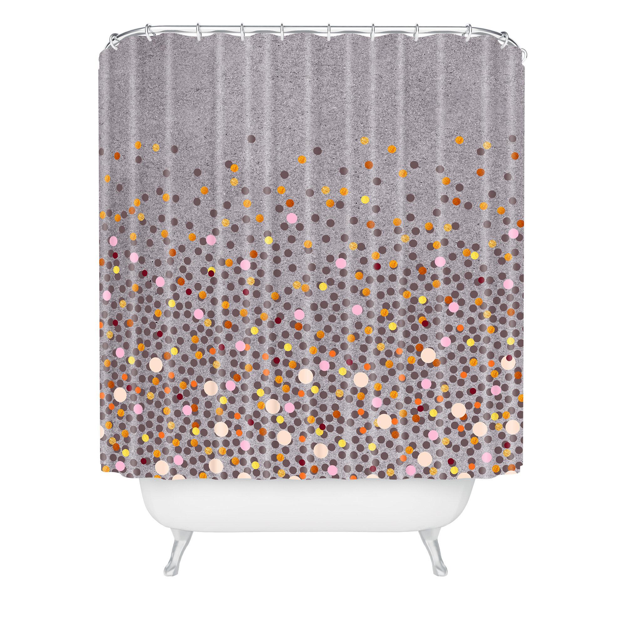 East Urban Home Iveta Abolina Splash Shower Curtain & Reviews ...