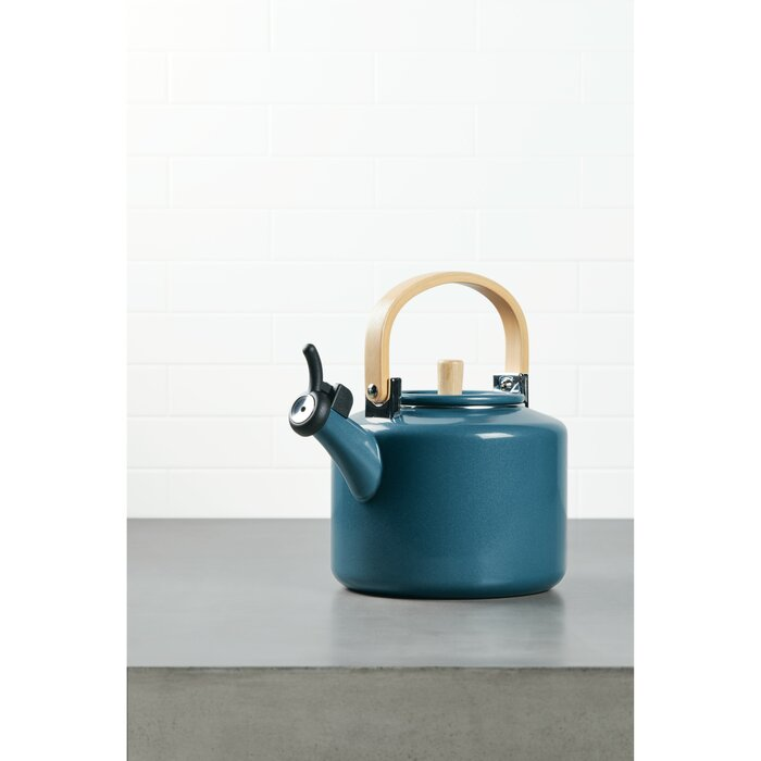 2 Qt  Stainless Steel Whistling Stovetop Kettle