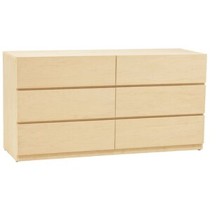 Kasie 6 Drawer Dresser by Harriet Bee