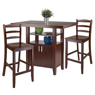 Tawanna 3 Piece Pub Table Set