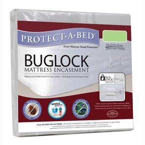 Buglock Bed Bug Proof Encasement Waterproof Mattress Protector by Protect-A-Bed