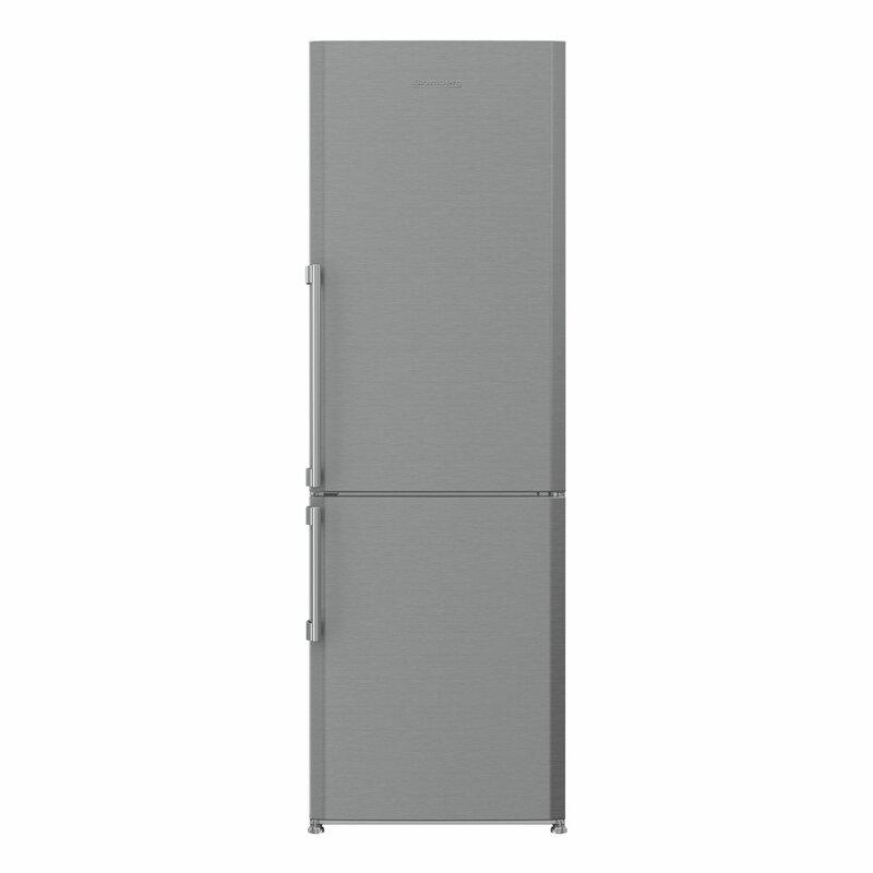 Blomberg 11.35 cu. ft. Energy Star Counter Depth Bottom Freezer Refrigerator with LED Lighting