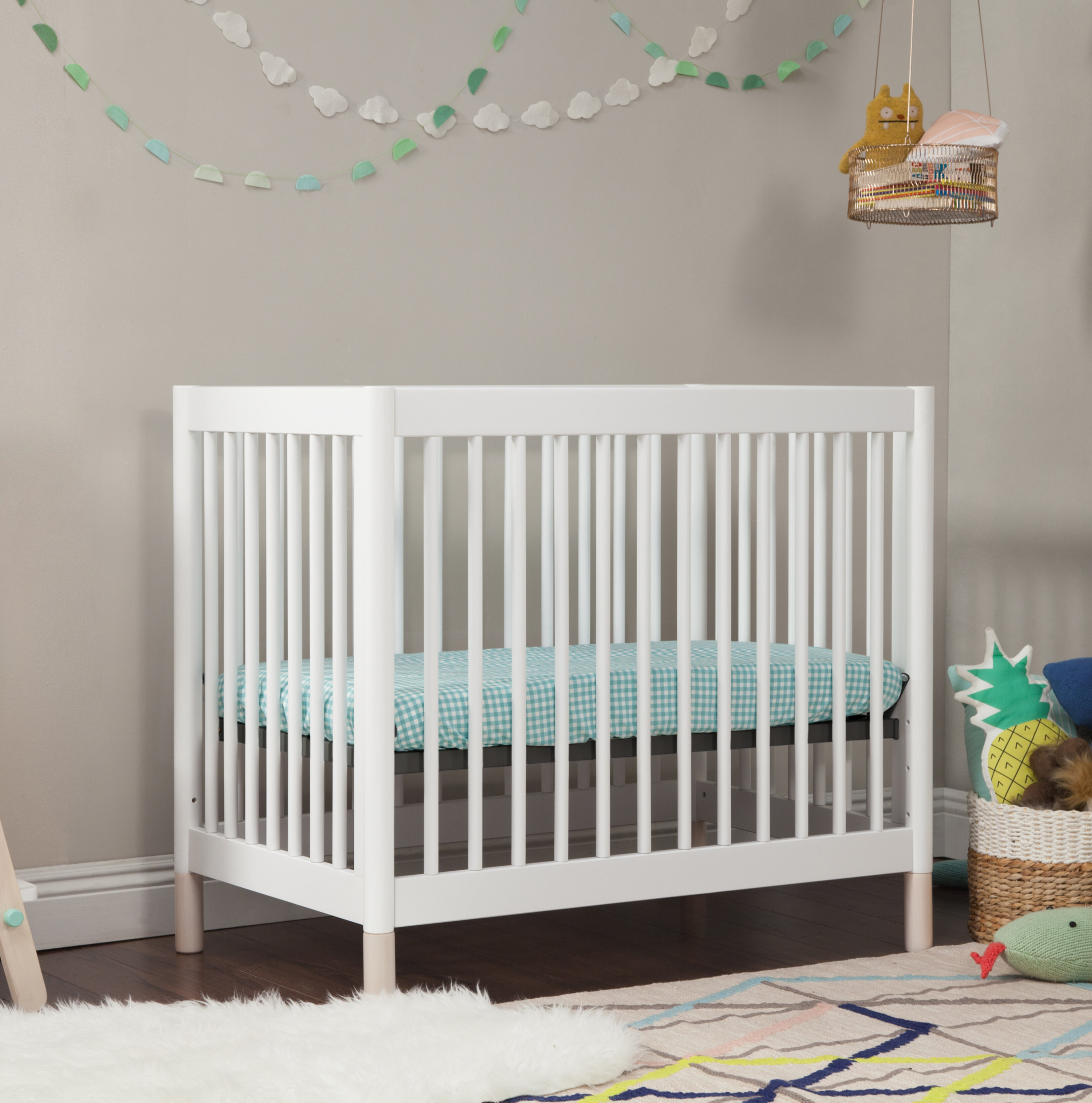 to angle convertible cribs bed delta bianca crib side toddler twin view children mattress conversion mini with classic products