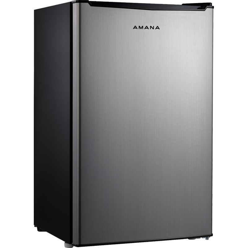 930d8f0d91f Amana 4.3 cu. ft. Compact Mini Refrigerator with Freezer   Reviews ...