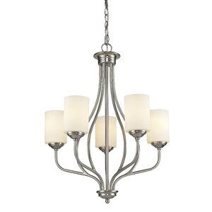 Cardinal 5-Light Shaded Chandelier