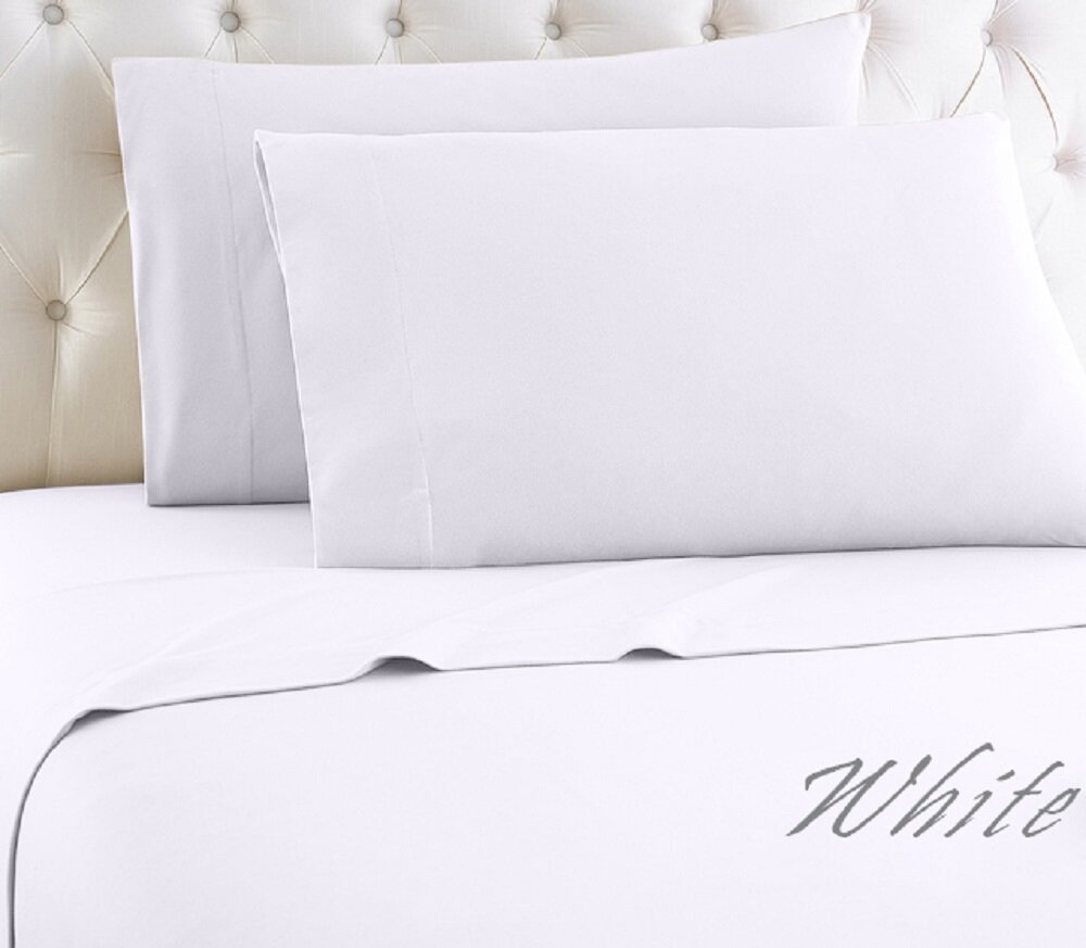 Almus 1000 Thread Count Solid Color 100 Egyptian Quality Cotton Sheet Set Reviews Joss Main