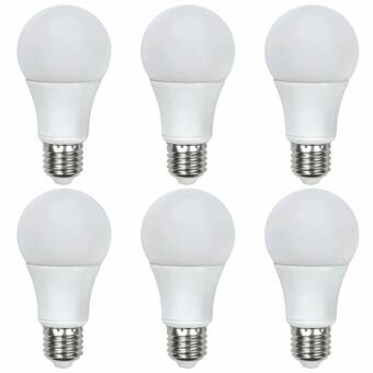 GVL 6 5Watt (60 Equivalent Wattage) A19 LED Dimmable Clear