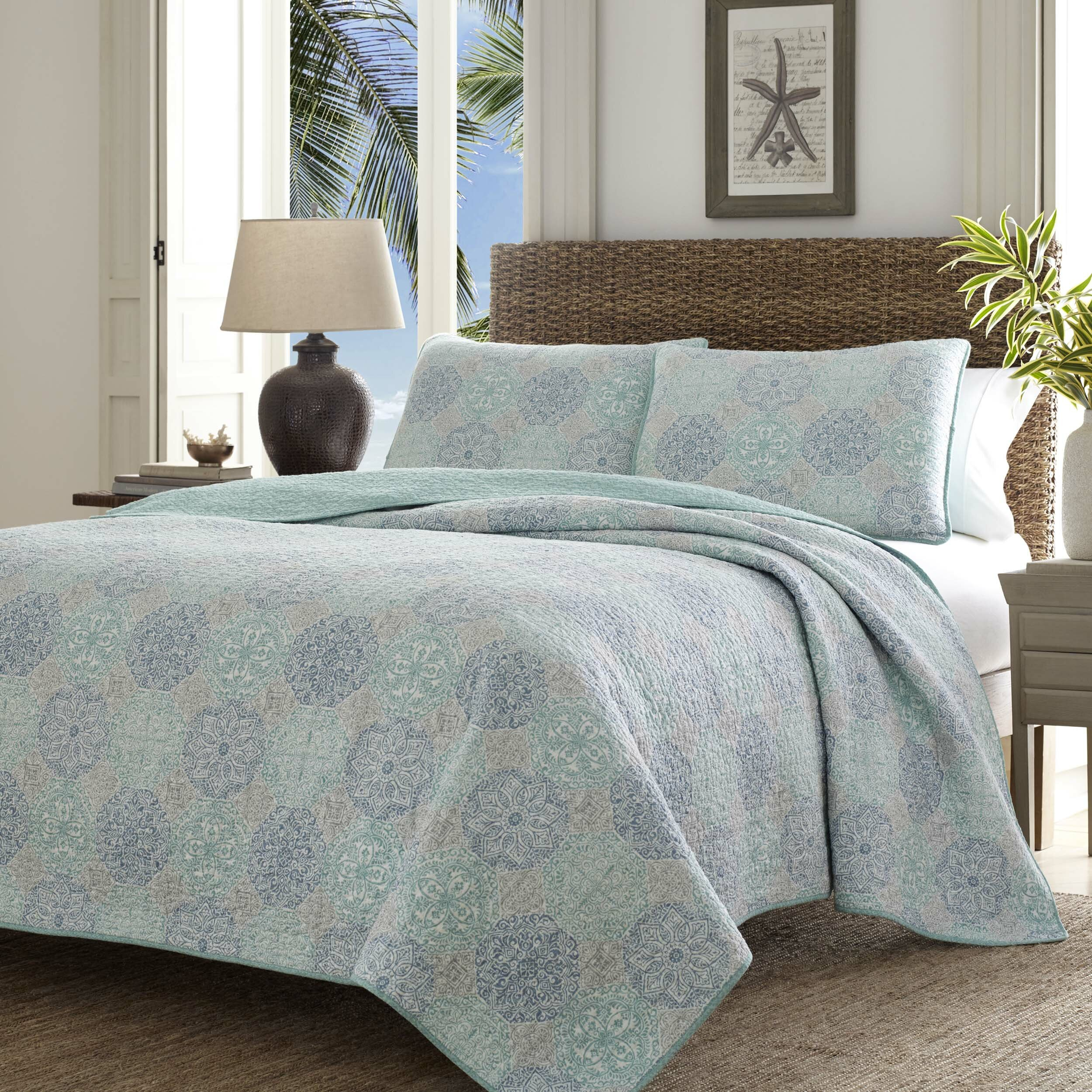 Tommy Bahama Home Wharton Landing Quilt Set by Tommy Bahama Bedding ...