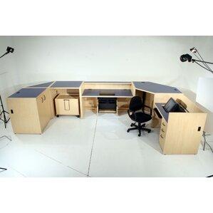 U Shape Desk Office Suite