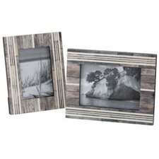 Frame in Gray and White