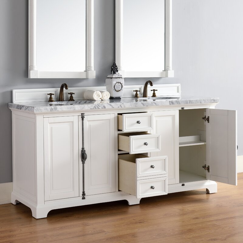 "Bathroom Vanity Base james martin furniture providence 72"" double bathroom vanity base"