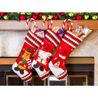 3 piece christmas stocking set - Christmas Stockings