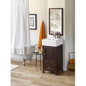 Juliet 18 Single Bathroom Vanity with Mirror
